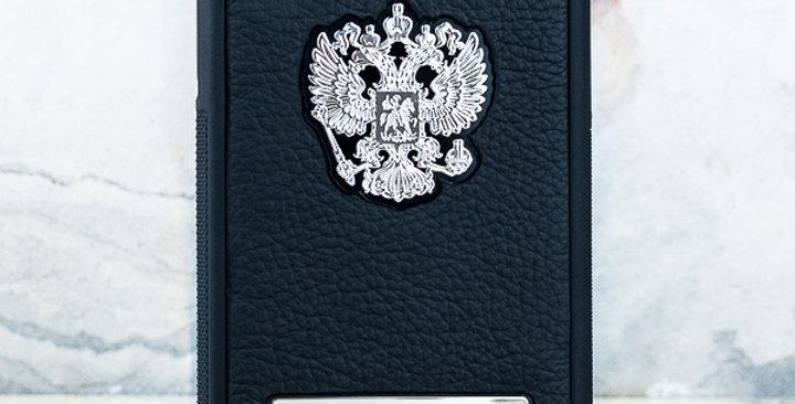Именной чехол с Гербом РФ премиум бренда Euphoria HM