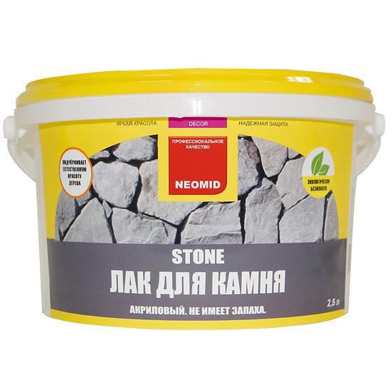 """Лак для камня """"Neomid"""""""