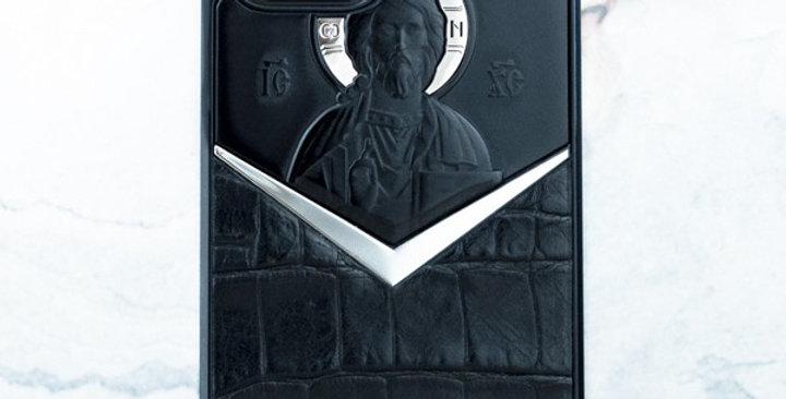 Премиальный чехол iPhone - Вседержитель Иисус Христос Euphoria HM