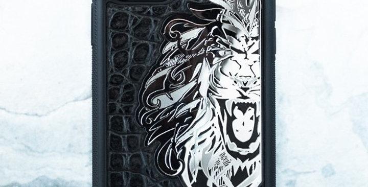 Дизайнерский чехол iphone со львом