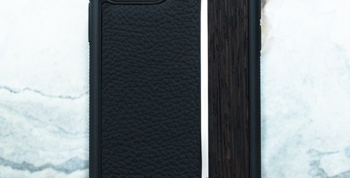 Premium iPhone Leather Metal Wood