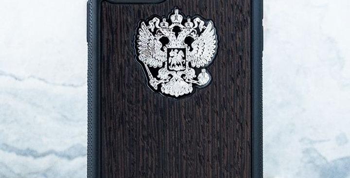 Premium iPhone Герб РФ Wenge