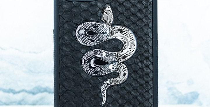Эксклюзивный чехол iphone с натуральной кожей питона