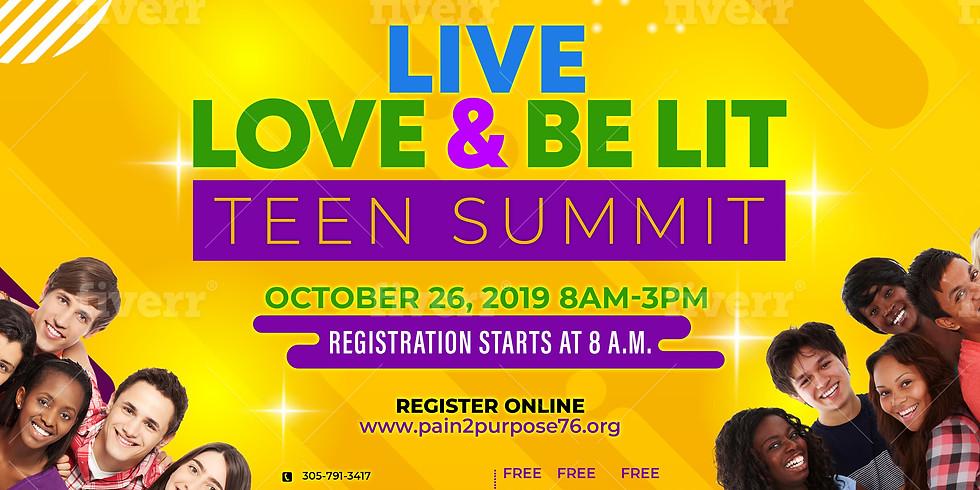 """Live Love & Be Lit"" Teen Summit 2019"