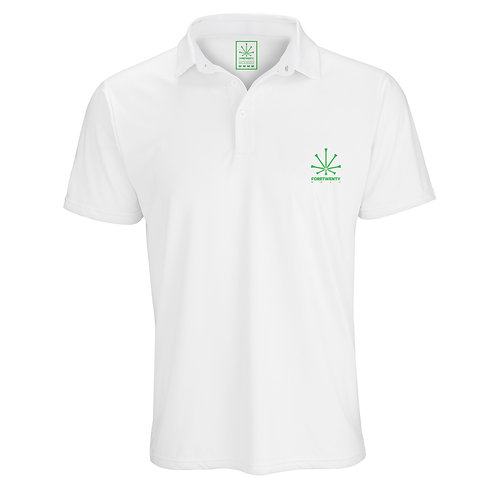 FORETWENTY GOLF BASIC SHIRT - WHITE