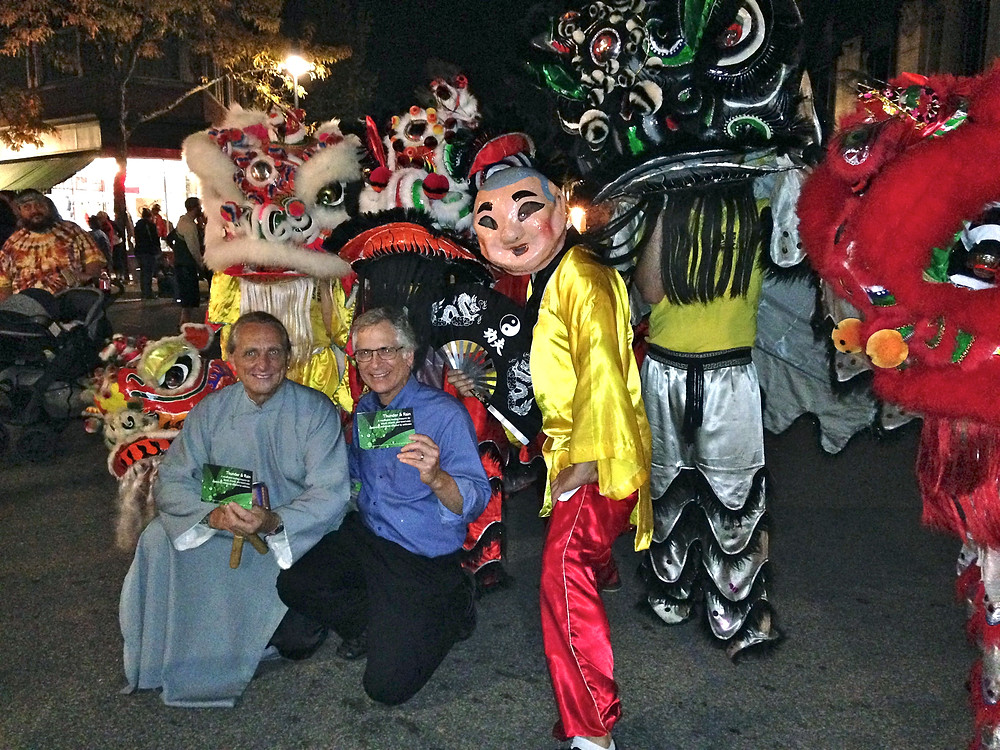 Thunder & Rain lion dance at Waukesha's Friday Night Live