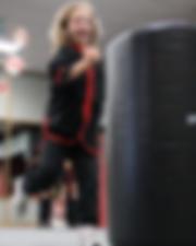 Kids' fun martial arts class