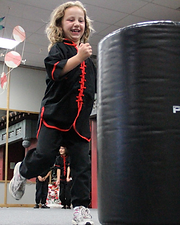Kids' fun martial arts class