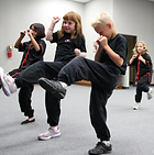 Martial arts youth class