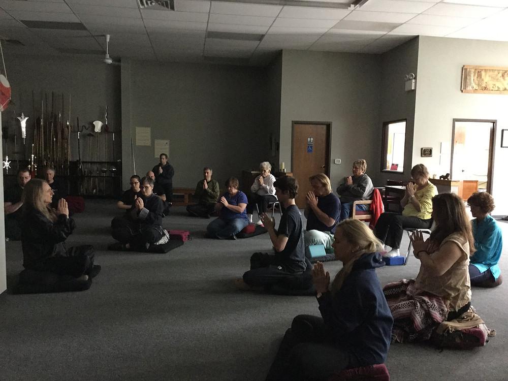 World Tai Chi and QiGong Day meditation