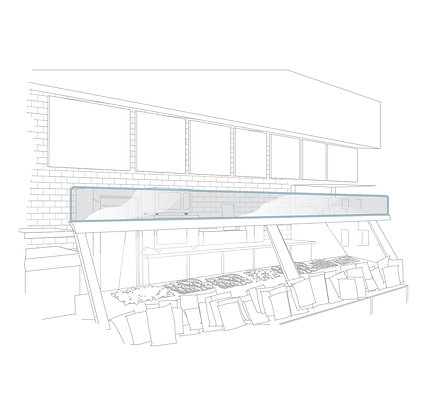 Cooler Top and Display Top Panels for Restaurants from