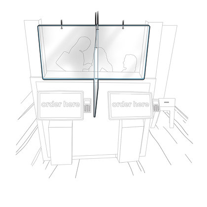 Restaurant Entrance, Service, and Ordering Panel Kits