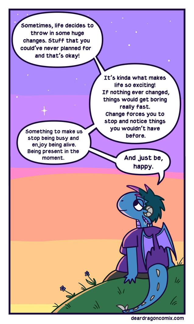 Dear Dragon Comic - Change