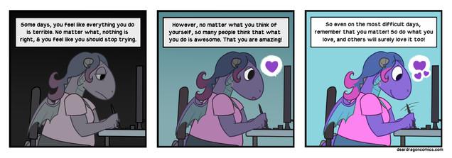 Dear Dragon Comic - Keep At It