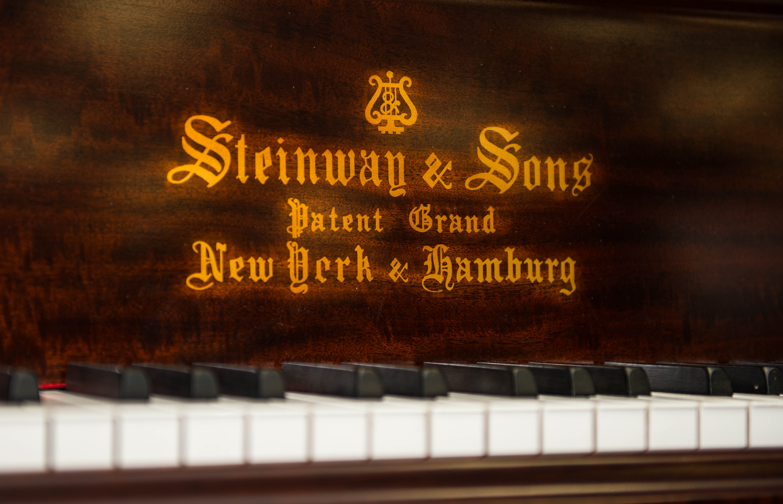 Steinway Model A Flame