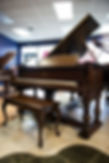 we carry a large collection of rebuilt Steinway pianos, The Steinway Model A is the smallest concert size grand piano available