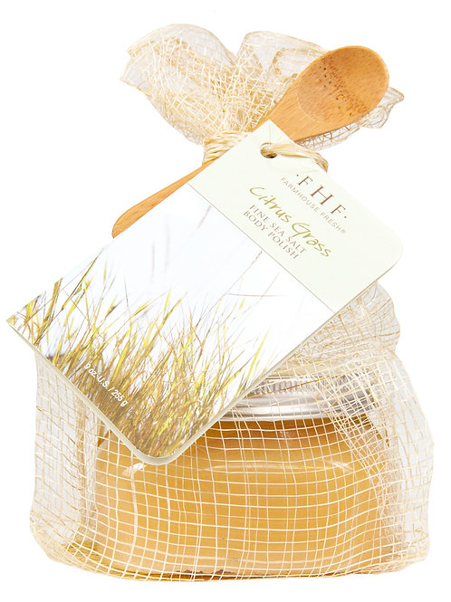 FarmHouse Fresh Citrus Grass Body Scrub