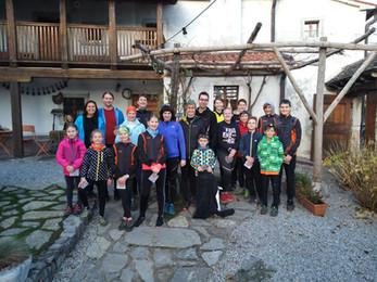 Praznični trening kamp Orientacijskega kluba Komenda - Pliskovica