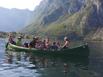 Orientacisti poletje zaključili s pustolovskim taborom v Bohinju