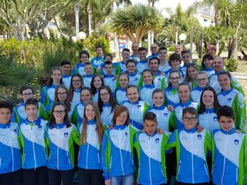 Komendski mladinci na WSCO v Palermu