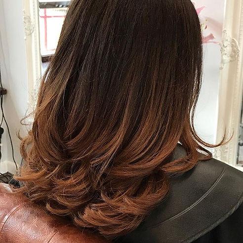 #copper#hair#moodoo#balayageombre