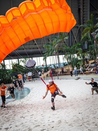 Basejump in den Tropical Islands