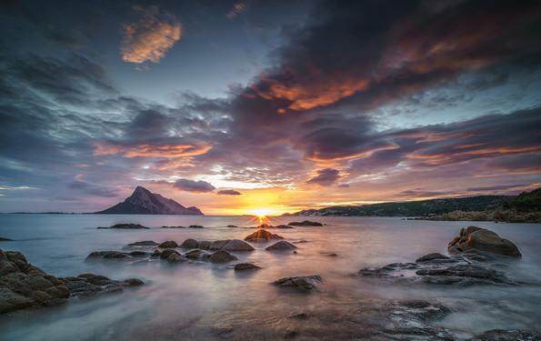 Sardinien Sonnenaufgang Isola di Tavolara