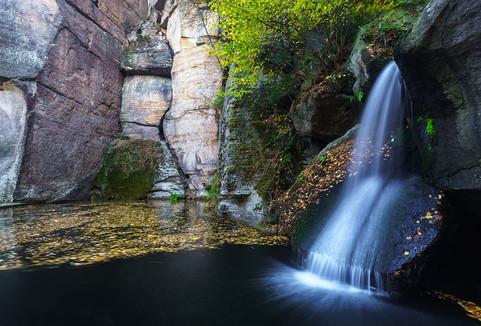 Elbsandsteinbebirge Wasserfall