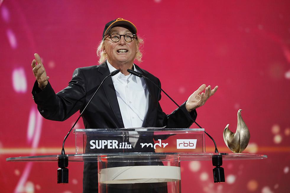 Otto Waalkes Preisverleihung Goldene Henne