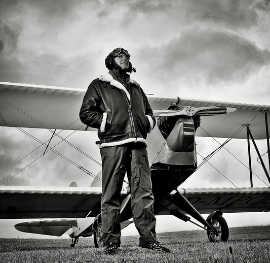 Pilot auf Usedom