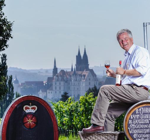 Winzer Prinz zur Lippe Schloss Proschwitz