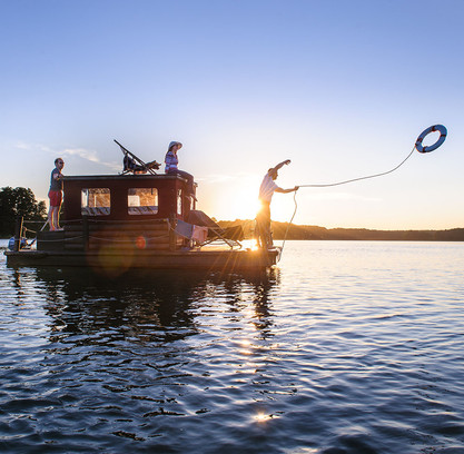 TMB Webefoto Hausboot