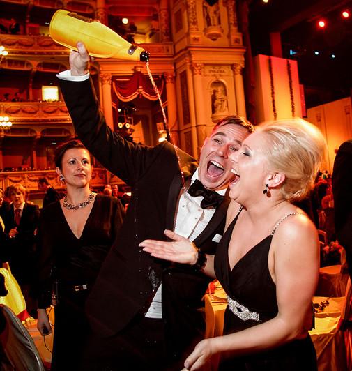 Dresden Party beim Opernball