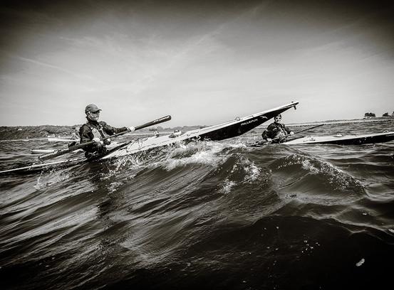 Seekajak auf der Ostsee