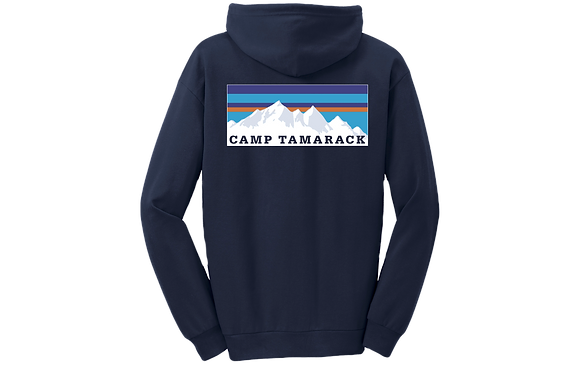 Youth Mountain Sunset Zip-Up