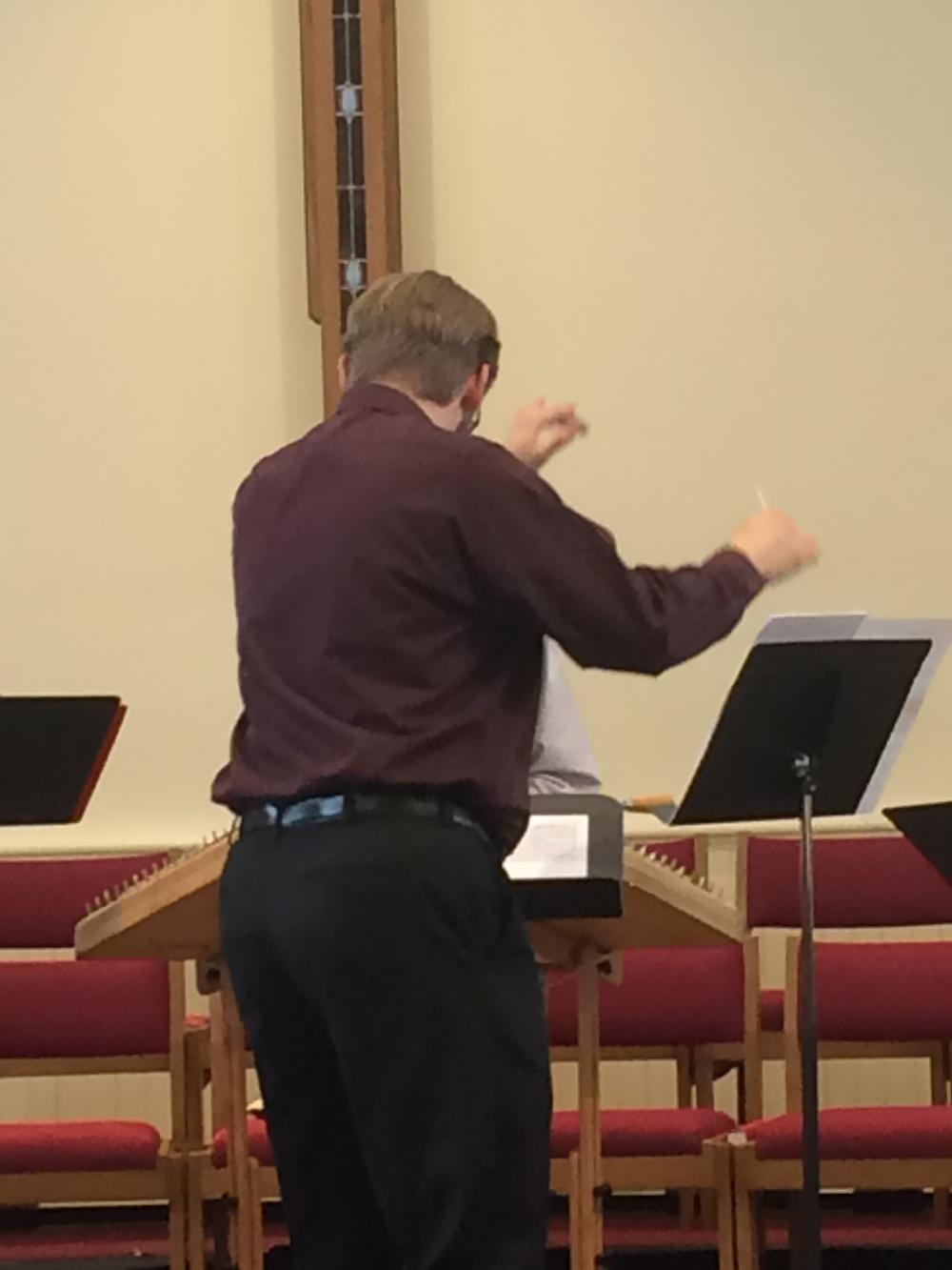 "Conducting ""Adirondack Sketches"""