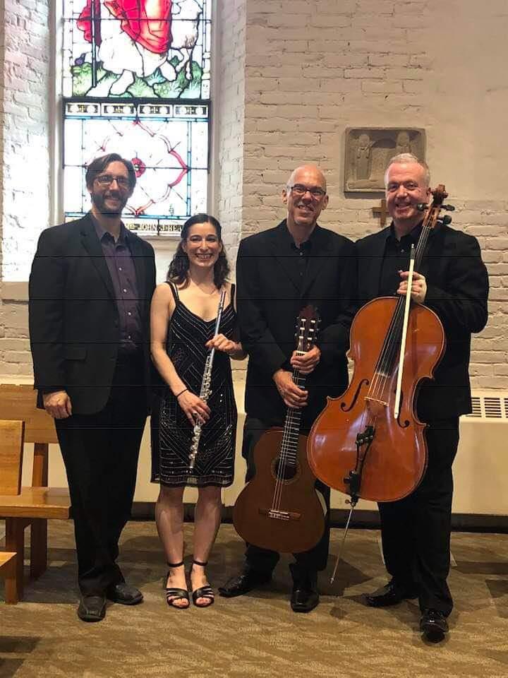 (form left) Philip Spaeth, Melanie Chirignan, Paul Quigley, Will Hayes