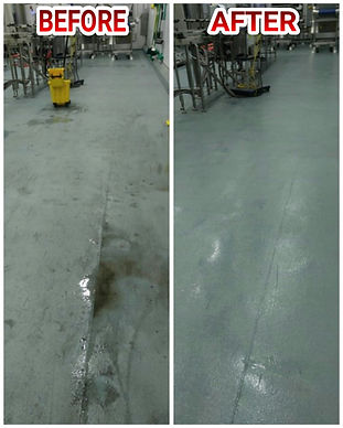 floors scrubbing