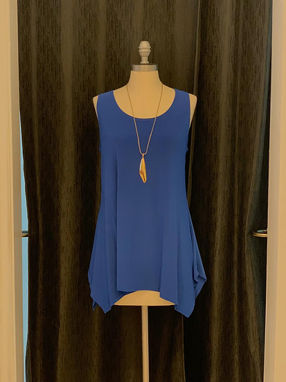 Blue Sleeveless Top by Come n See