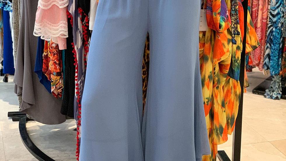 Baby Blue Palazzo Pants