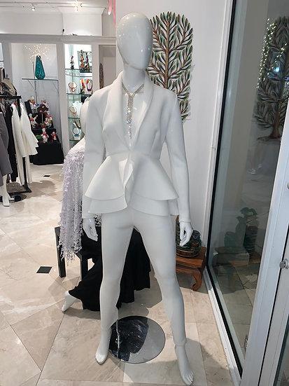White Techno Suit