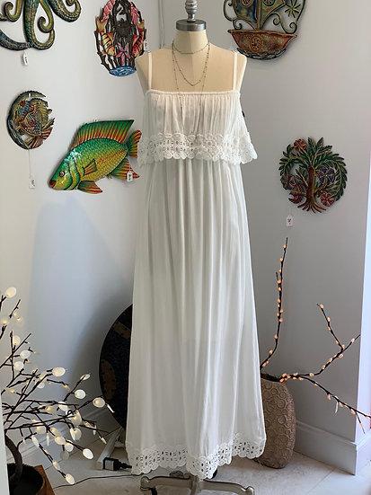 Maxi Dress w/Crochet