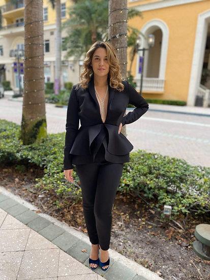 Black Techno Suit