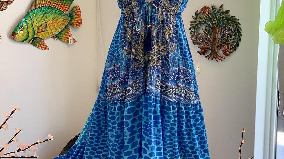 Ocean Dive Hi-Low Dress
