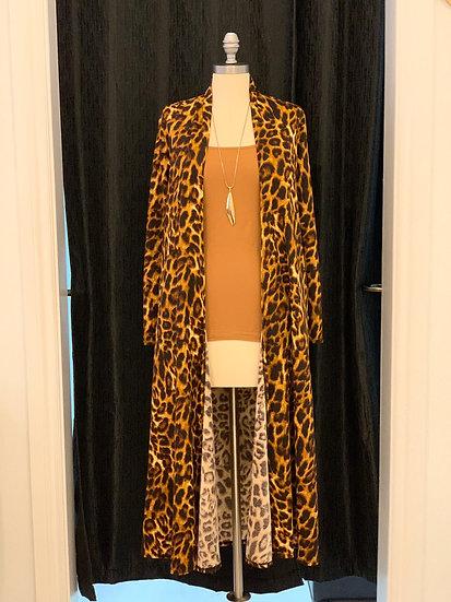 Cheetah Print Duster