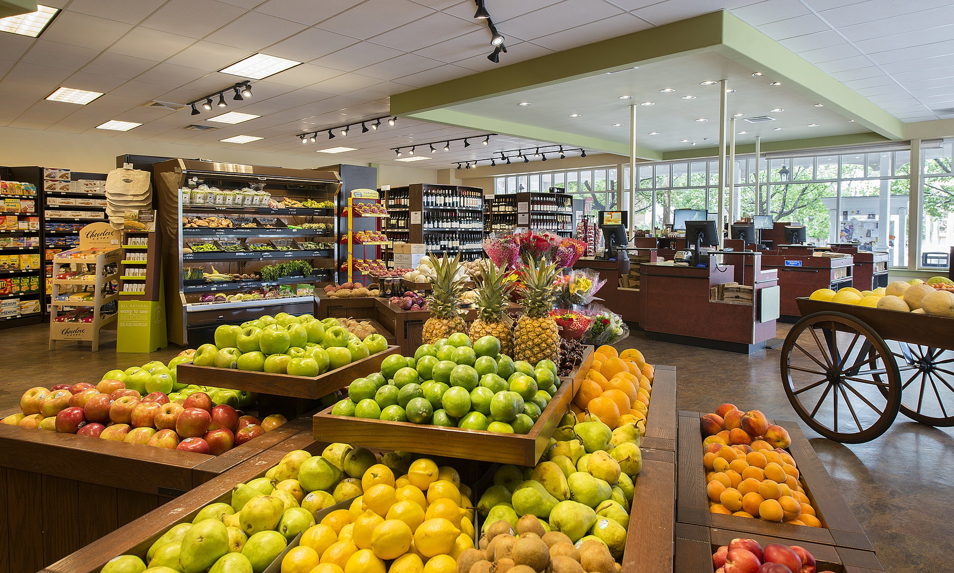 Bringing your grocery stores shopping experience and personality to life