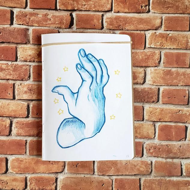 sketchbook project // hand