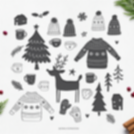 Winter Vector Freebie Preview.png