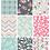 Emily Spadoni Floral Pattern Download Pretty Stylish Seamless Design Set