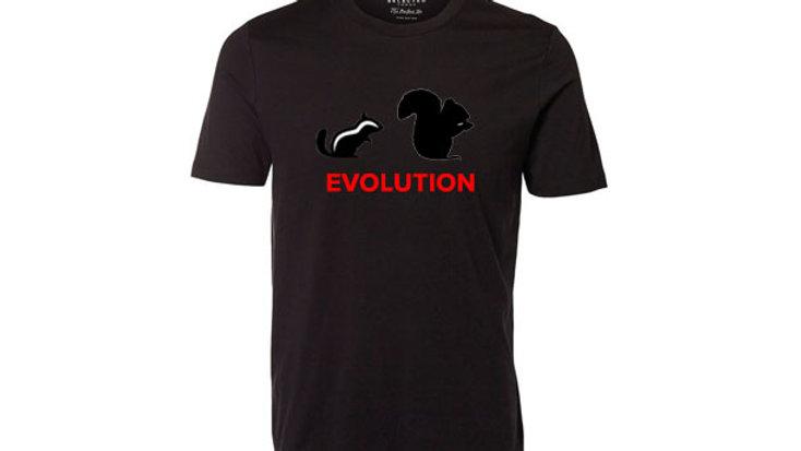 Chipmunk Squirrel Evolution T-shirt